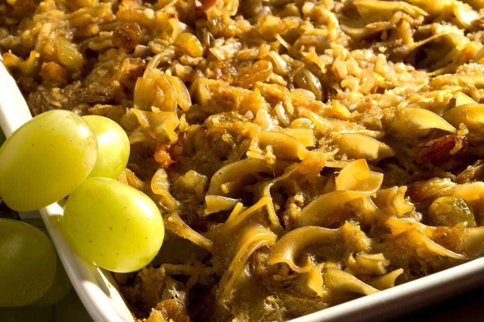 Czech Apple-Noodle Kugel _lowres