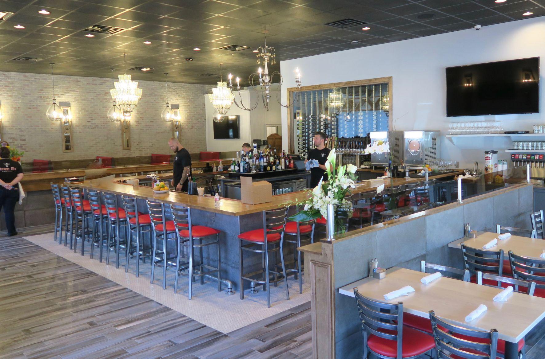 Three B's Restaurant interior