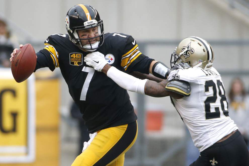Photos: Saints take down Steelers at Heinz Field _lowres