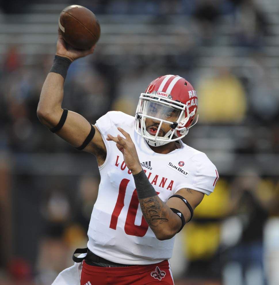 Appalachian State controls Cajuns 28-7, ending UL-Lafayette's bowl hopes _lowres