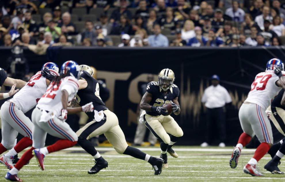 Who Dat Nation sends prayers, well wishes to RB Khiry Robinson after injury _lowres