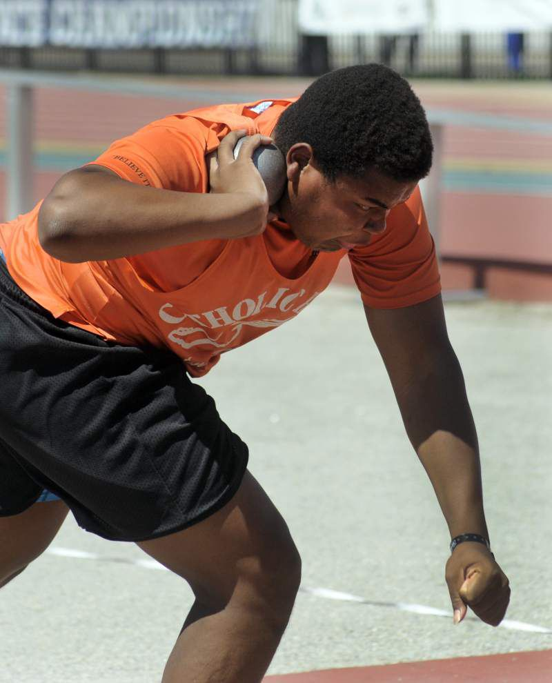 State track: Catholic boys, Zachary girls snare Class 5A championships _lowres