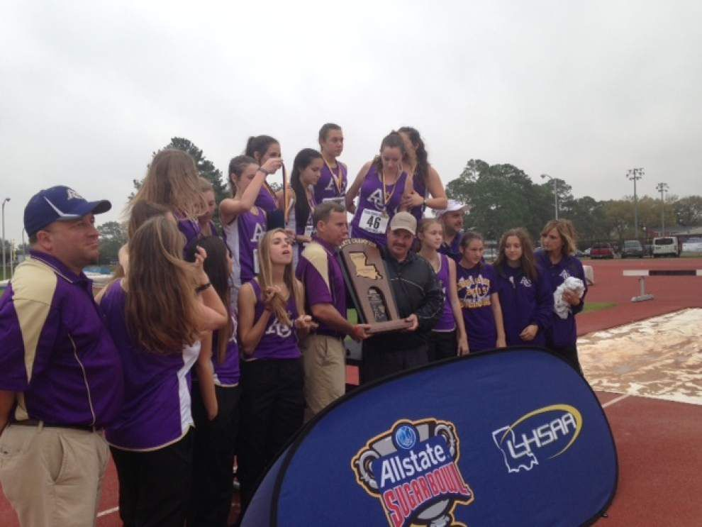 Latest results, winners from Allstate Sugar Bowl/LHSAA state cross country _lowres