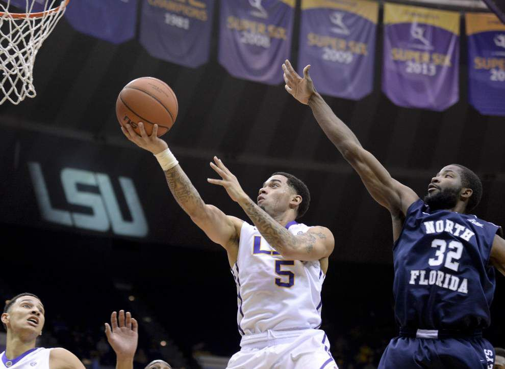 Loyola Marymount comes to mind after LSU's memorable high-scoring win over North Florida _lowres