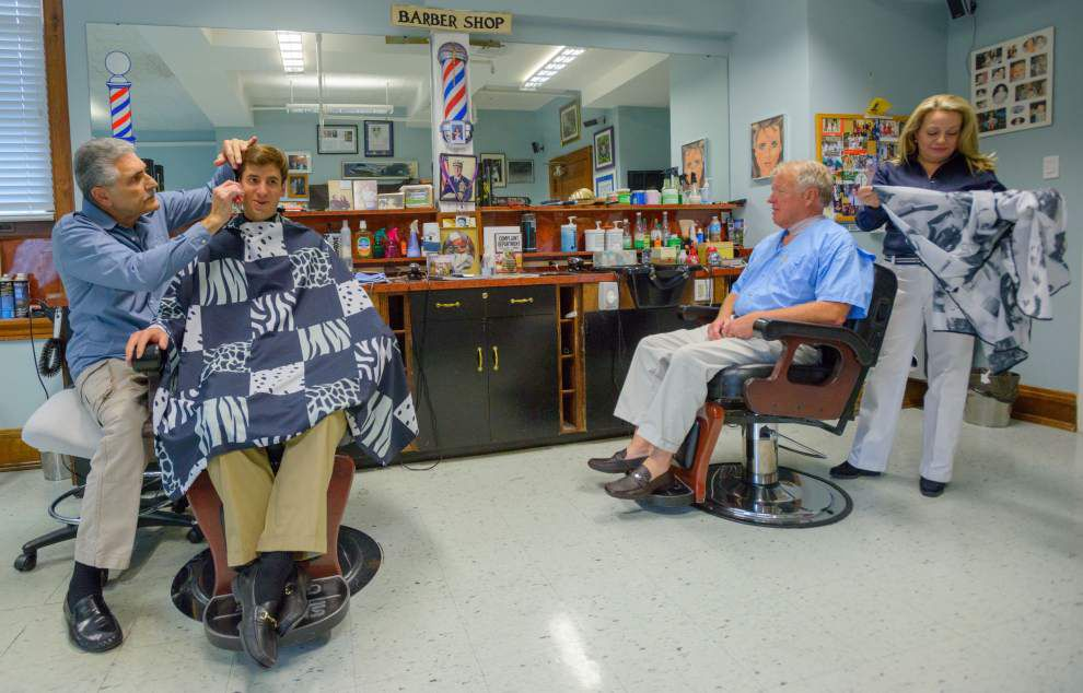 Clipping Along: Barber Tony Trippi has kept New Orleans heads looking good for more than 50 years _lowres