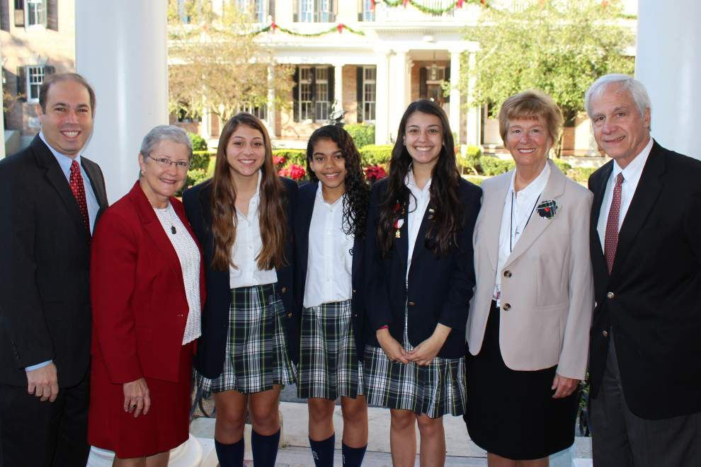 Three at the Academy of the Sacred Heart win Hispanic heritage scholarships _lowres