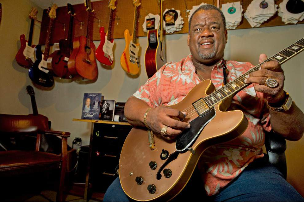 Blues sideman Lil' Ray Neal steps into the spotlight _lowres