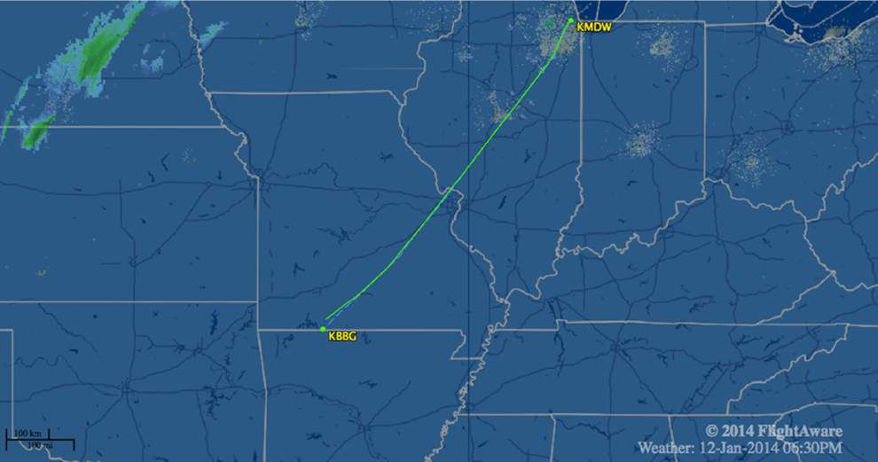 Southwest flight lands at wrong Missouri airport _lowres