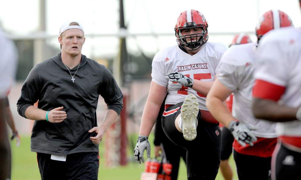 Cajuns' Jeremy Sparks finds tough decision is the right one _lowres
