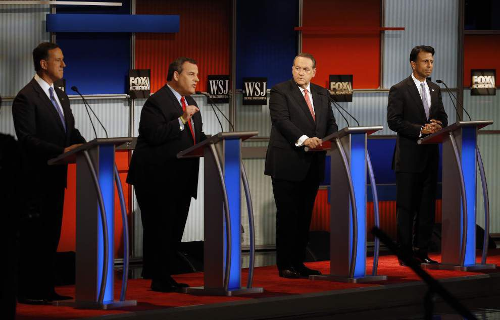 Bobby Jindal forceful in latest undercard debate Tuesday, goes after Chris Christie _lowres