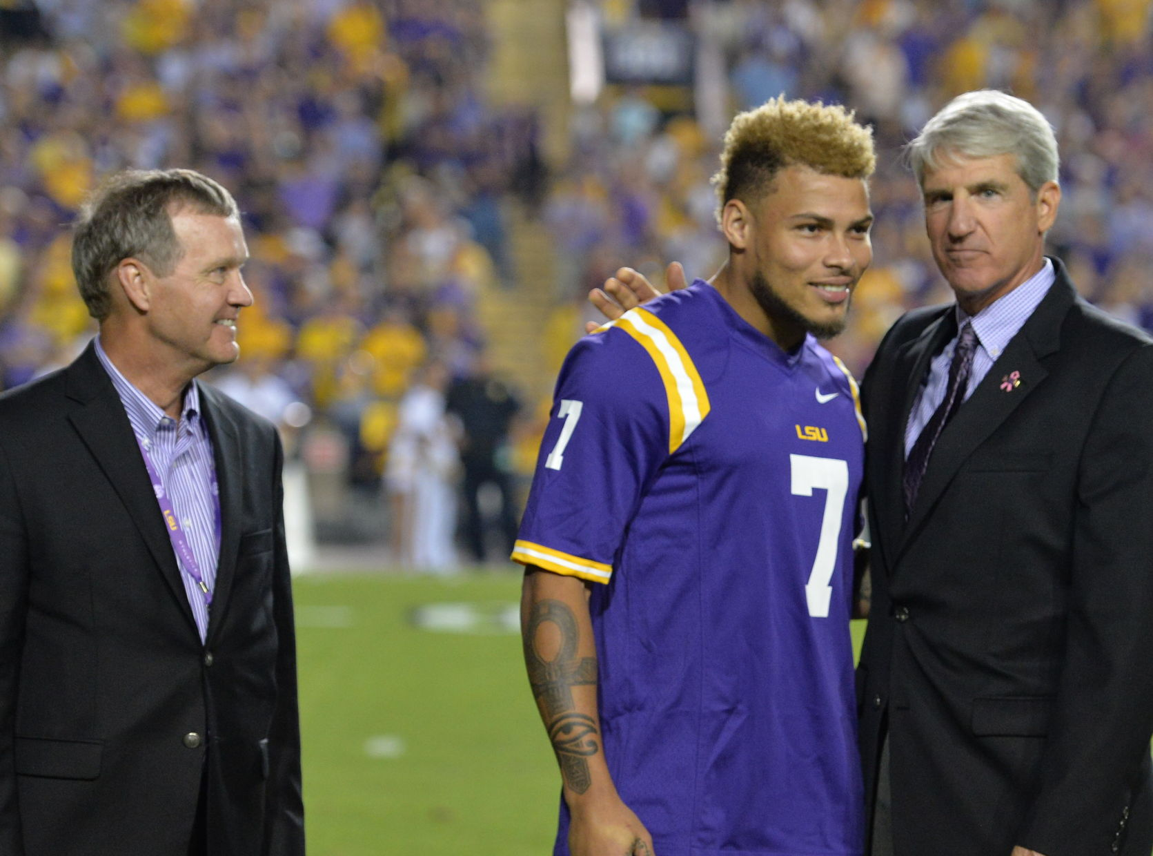 LSU's players' lounge being named after former DB Tyrann Mathieu ...