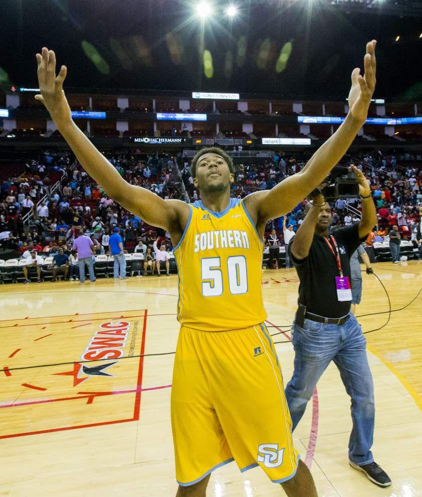 Southern men nip Jackson State, earn NCAA tournament bid _lowres