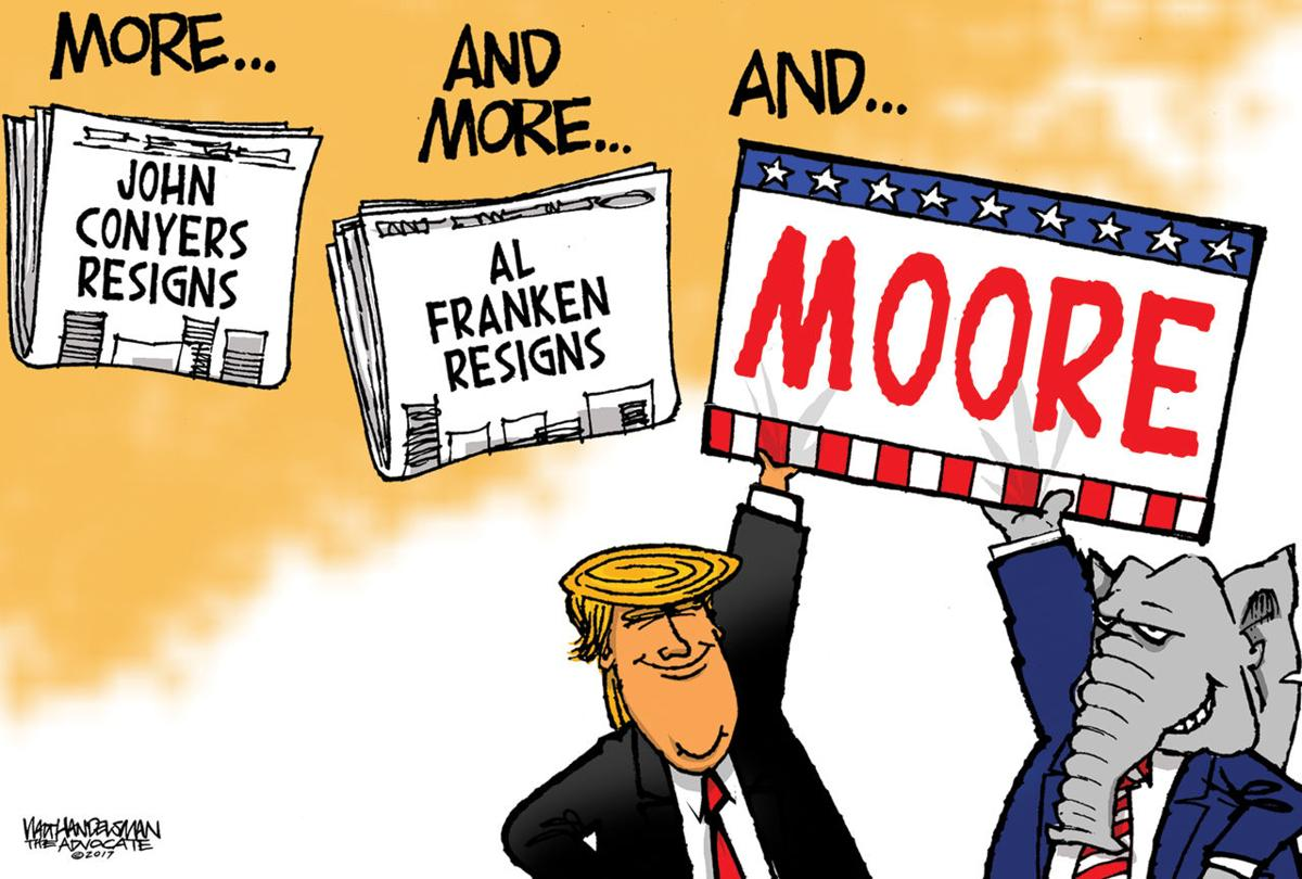 Walt Handelsman: More and more and...