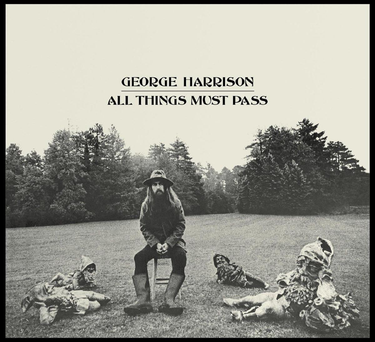 george harrison all things must pass cover