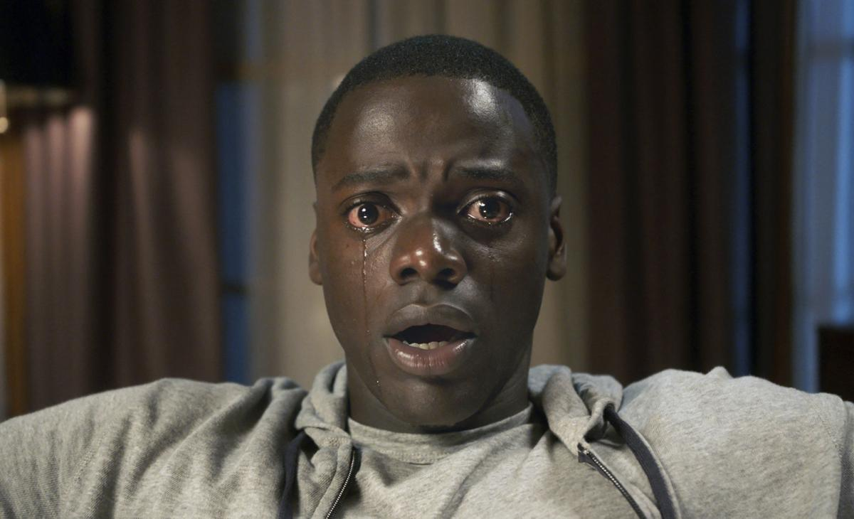'Get Out' still copy for Red