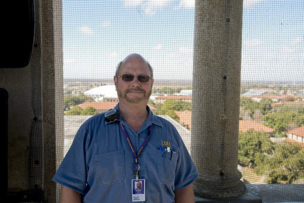 For the few with access, climb to top of LSU's Memorial Tower is a special treat _lowres