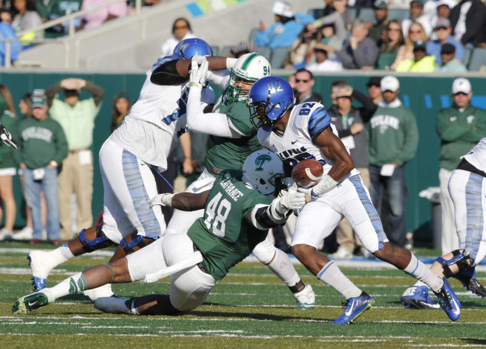 Tulane defense stands tall against Memphis, even in a 38-7 loss _lowres