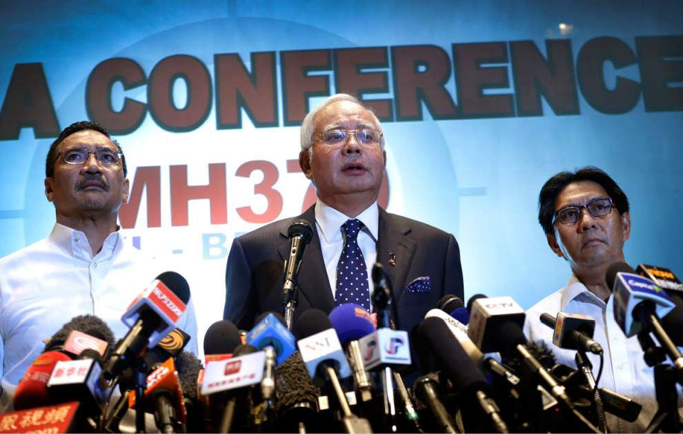 Malaysian leader: Plane's disappearance deliberate _lowres