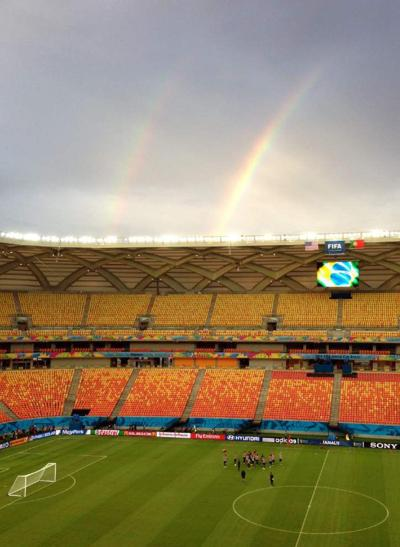 In the Amazonian rainforest, US soccer teams finds its proving ground _lowres