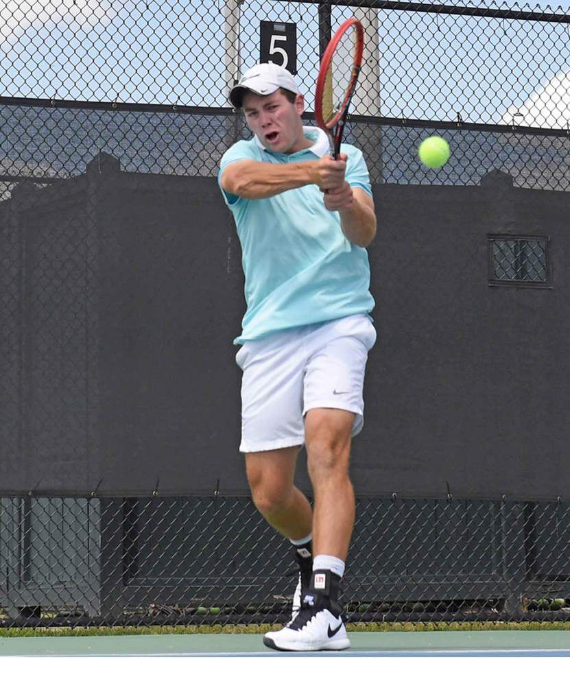 Self-belief helps put Tulane's Dominik Koepfer atop rankings _lowres