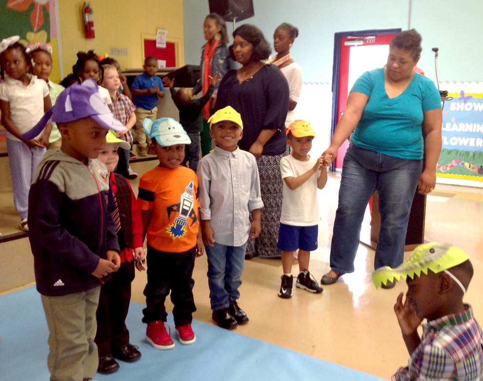 Students from Quad Area Head Start in Clinton host spring program _lowres