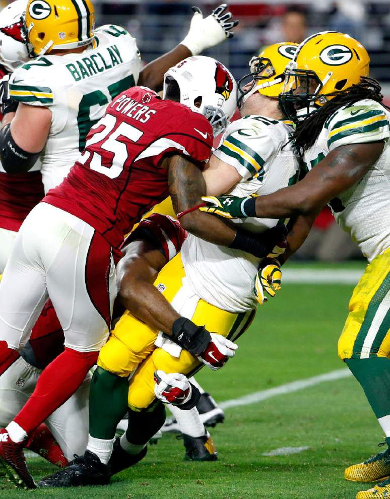 Packers say they're no underdog at Arizona _lowres