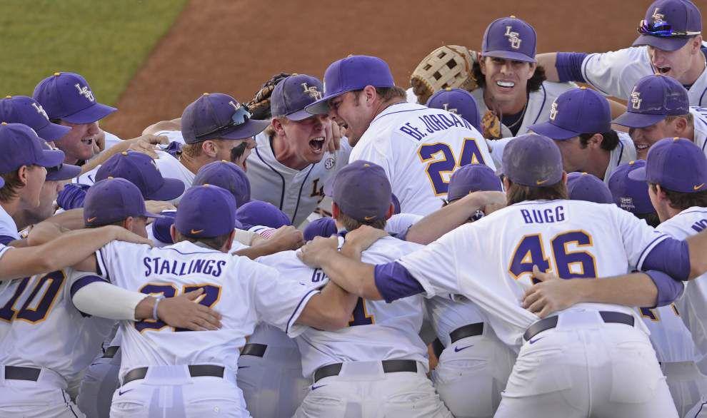 Seven-run third inning buoys short rest masterpiece from Jared Poché in LSU's 13-4 rout of Vanderbilt _lowres