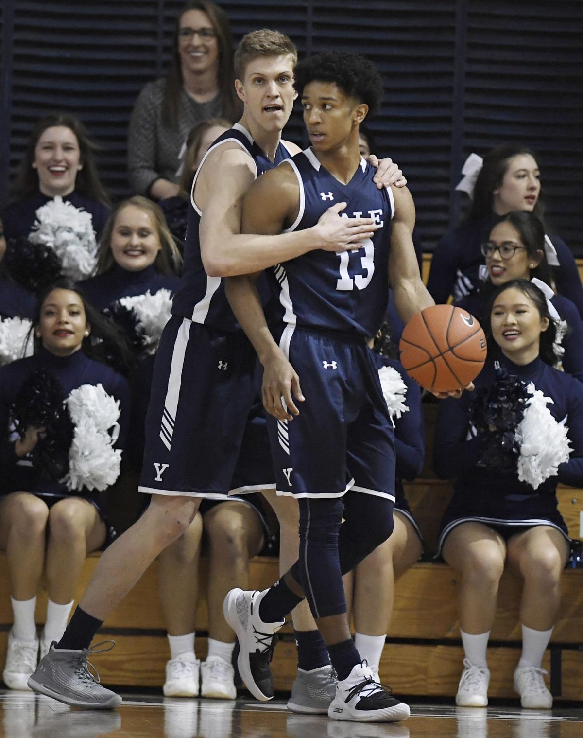 Ivy Yale Harvard Basketball