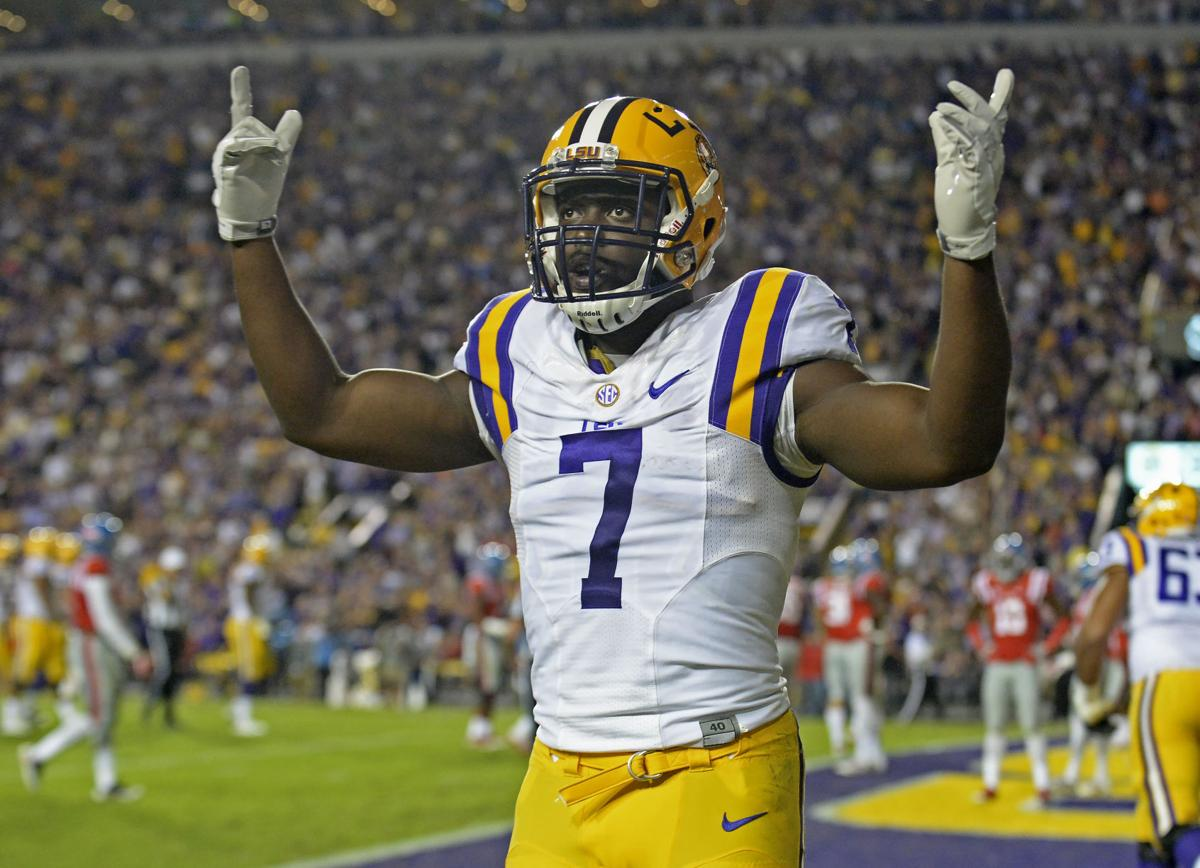 Scott Rabalais An Emotionally Satisfying Lsu Win Over Ole Miss Especially For Leonard Fournette And Ed Orgeron Lsu Theadvocate Com