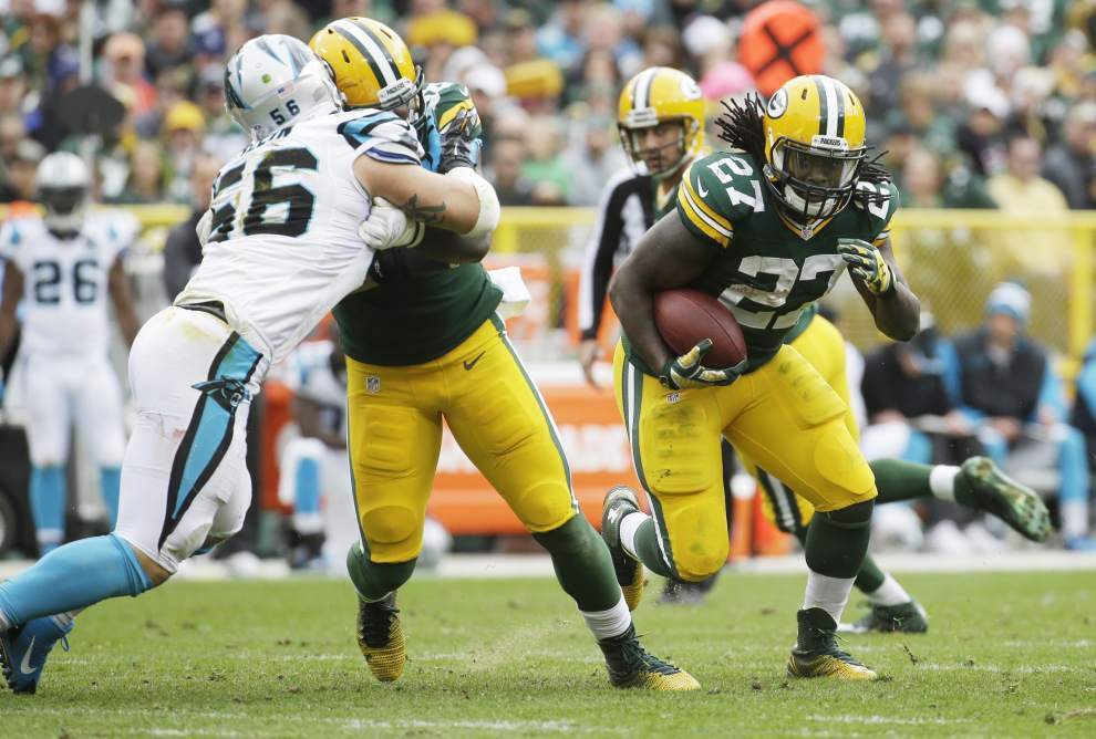 Packers running back and Louisiana native Eddie Lacy ready to face Saints in front of family, friends _lowres