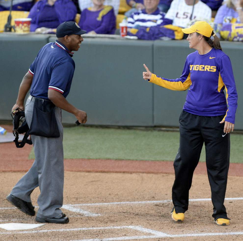 LSU softball team's reaction to losses in Starkville helped spur run to the WCWS _lowres