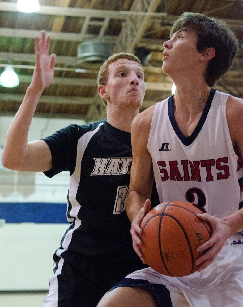 Brandon Womac finds the range for St. Martin's _lowres