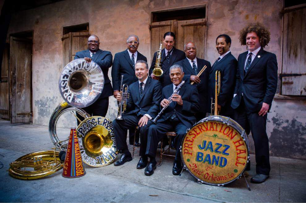 Preservation Hall Jazz Band tours, stars and keeps on playing _lowres