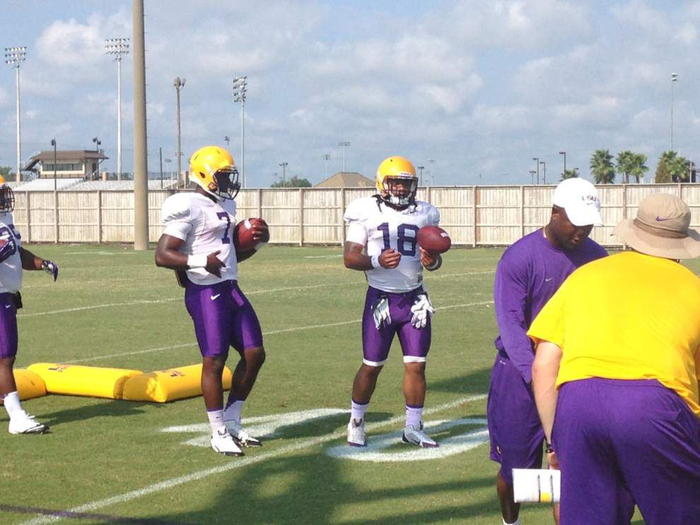 Video: LSU passing drills _lowres