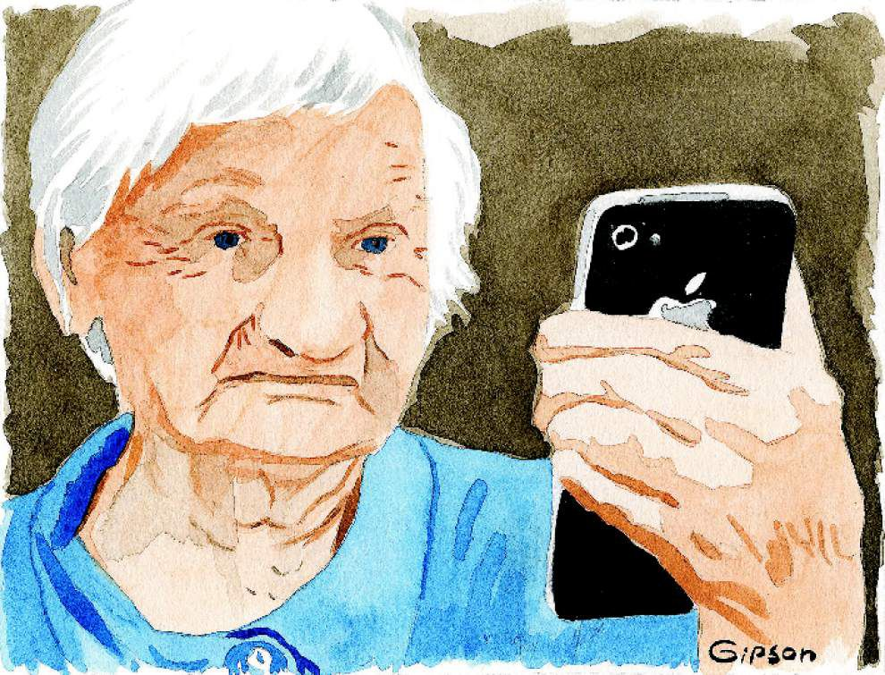 Human Condition: Maybe fancy phones aren't meant for folks like me _lowres