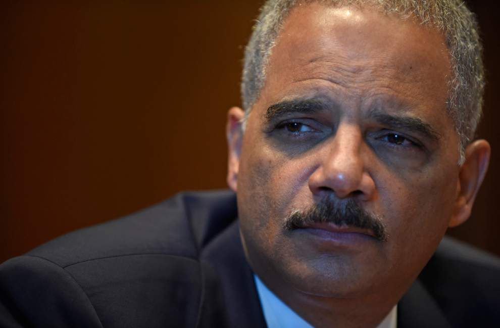 Official says Holder resigning as attorney general _lowres