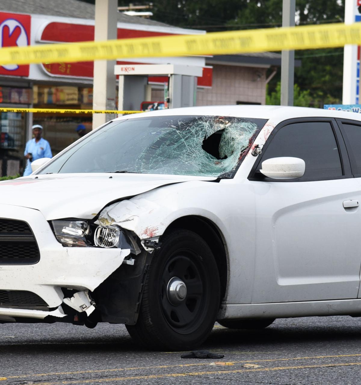 Unmarked Baton Rouge police car strikes, kills pedestrian on