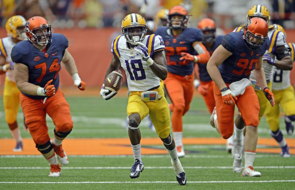 Back in Baton Rouge, LSU DB Tre'Davious White set to announce his NFL decision Monday _lowres