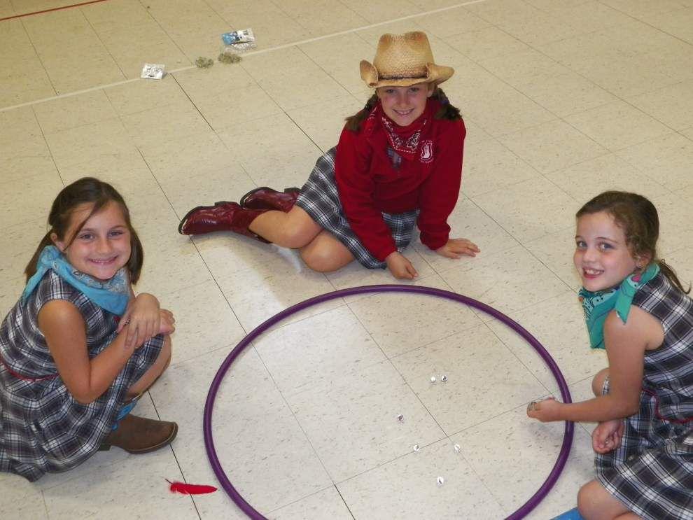St. Jude third-graders celebrate Pioneer Day _lowres