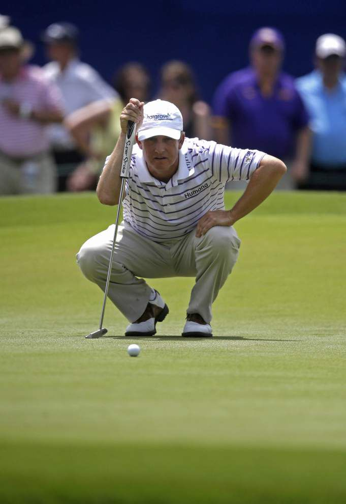 David Toms regains form, makes cut at Zurich Classic _lowres