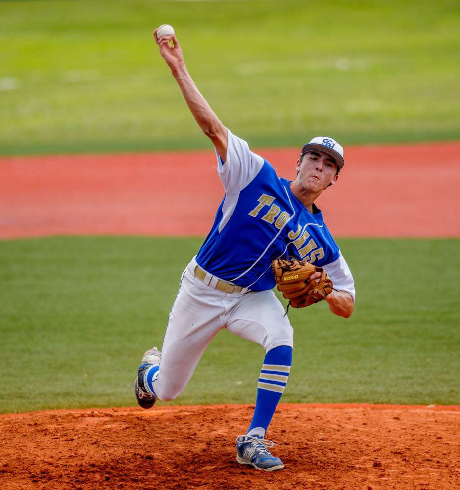 Sacred-Ville Platte blanks Crescent City in Class 1A baseball playoffs _lowres