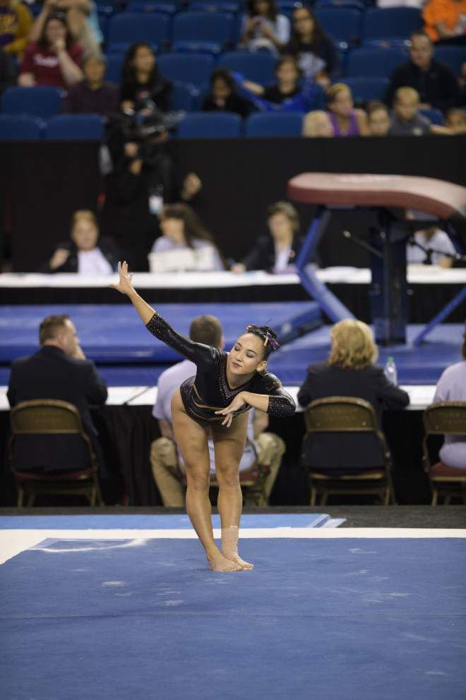 Movin' on: LSU gymnastics team surges into Saturday's Super Six finals _lowres