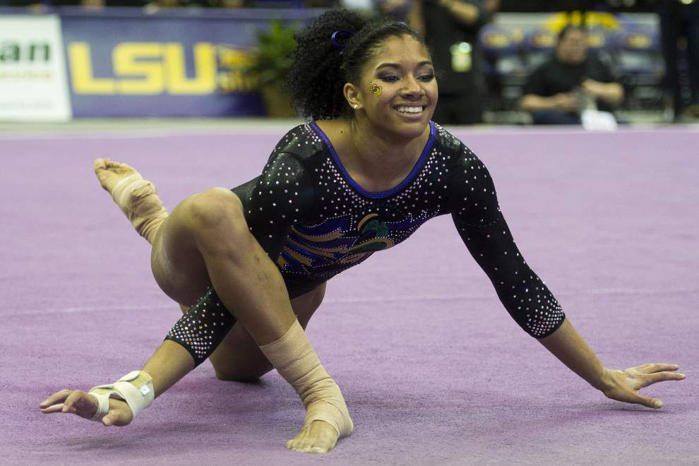 Randii Wyrick's efforts are poetry, both in LSU gymnastics and in writing _lowres