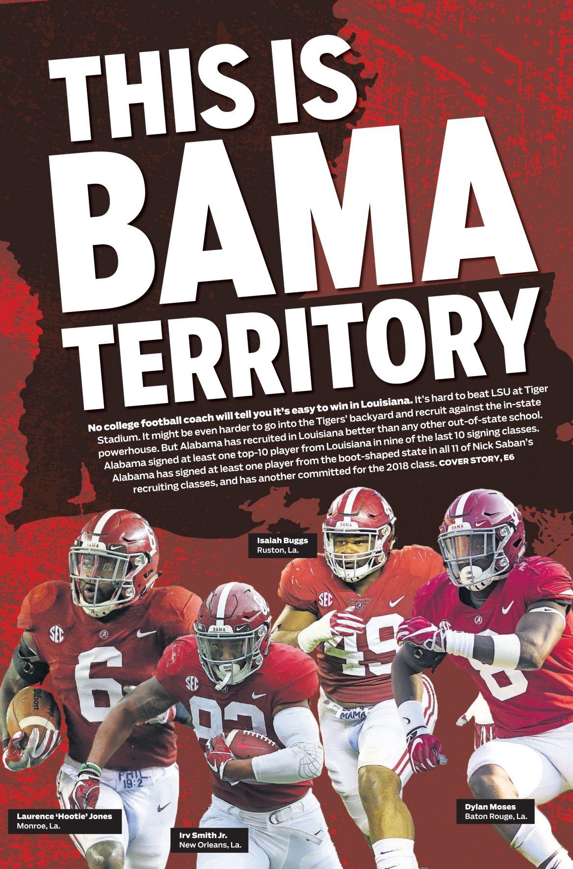 Tuscaloosa News front page
