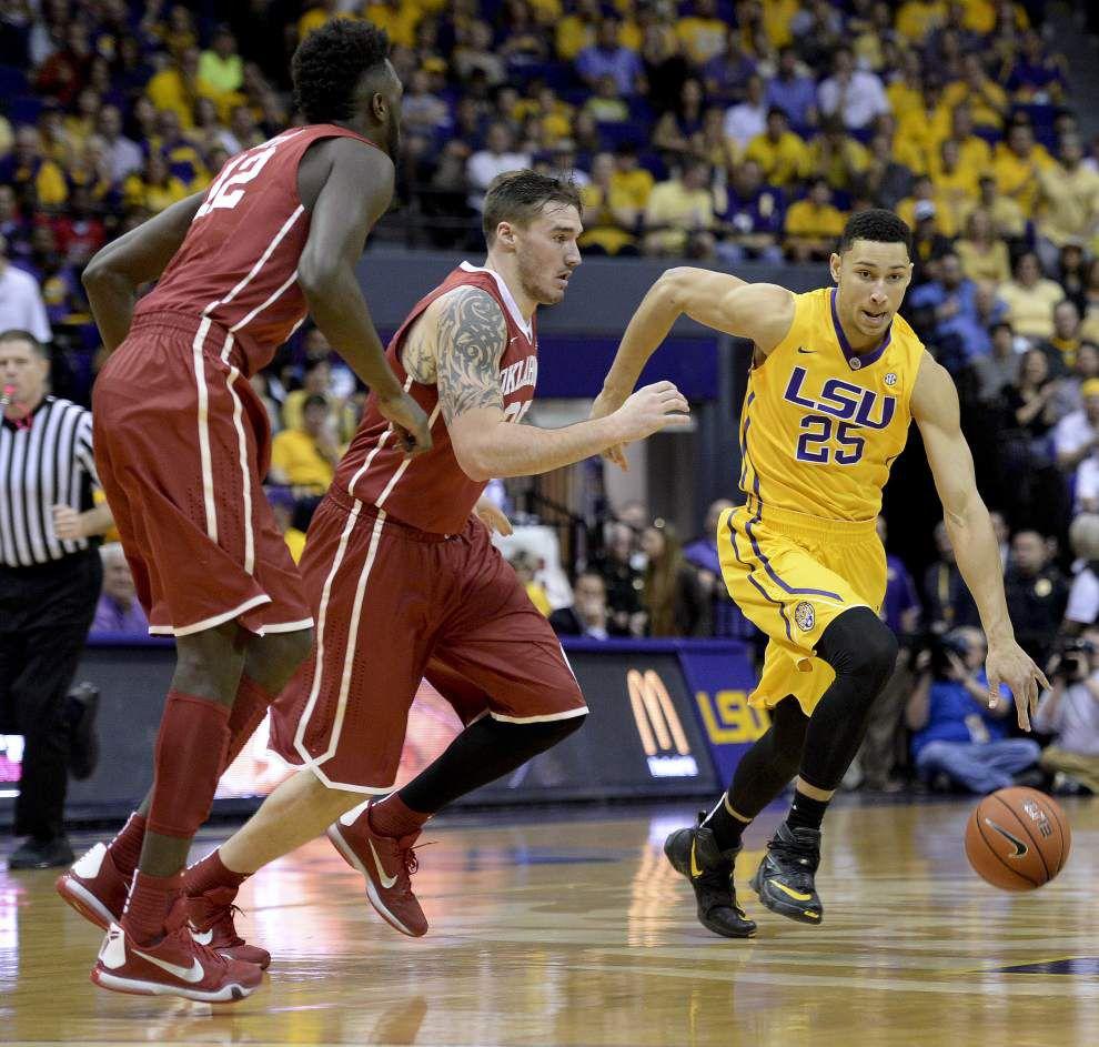 Photos: Photo recap of LSU vs Oklahoma at the PMAC _lowres