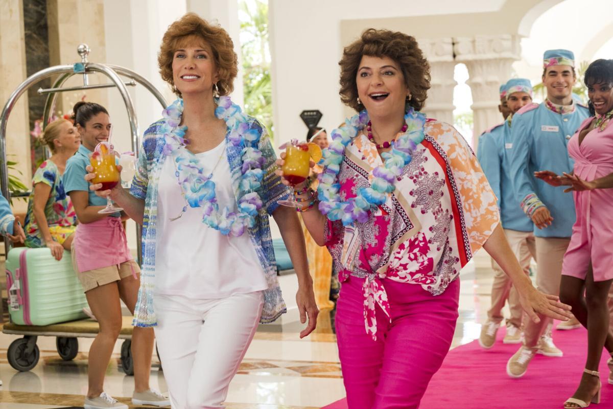 Barb and Star go to Vista Del Mar still 2021 movie