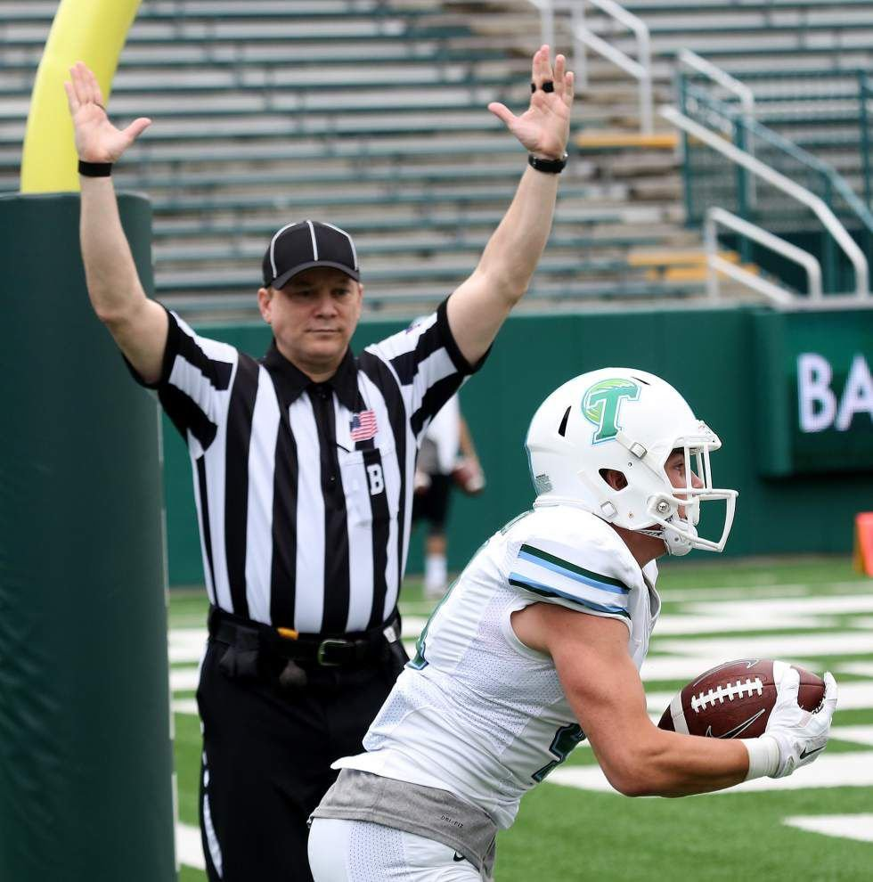 Tulane spring game: Guerry Smith breaks down the Green Wave's day _lowres