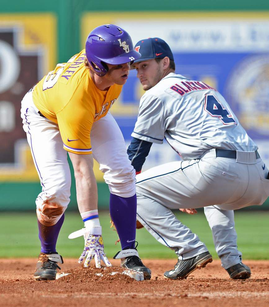 Sweet-swinging Tigers rout Ole Miss 18-6 to claim series win _lowres