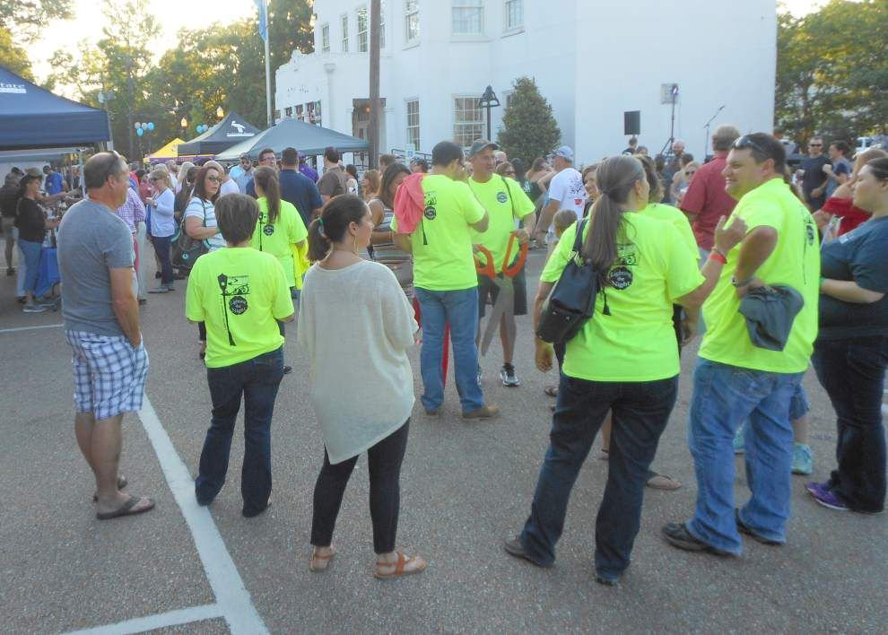 Denham Springs block party mixes local brews, fundraising _lowres