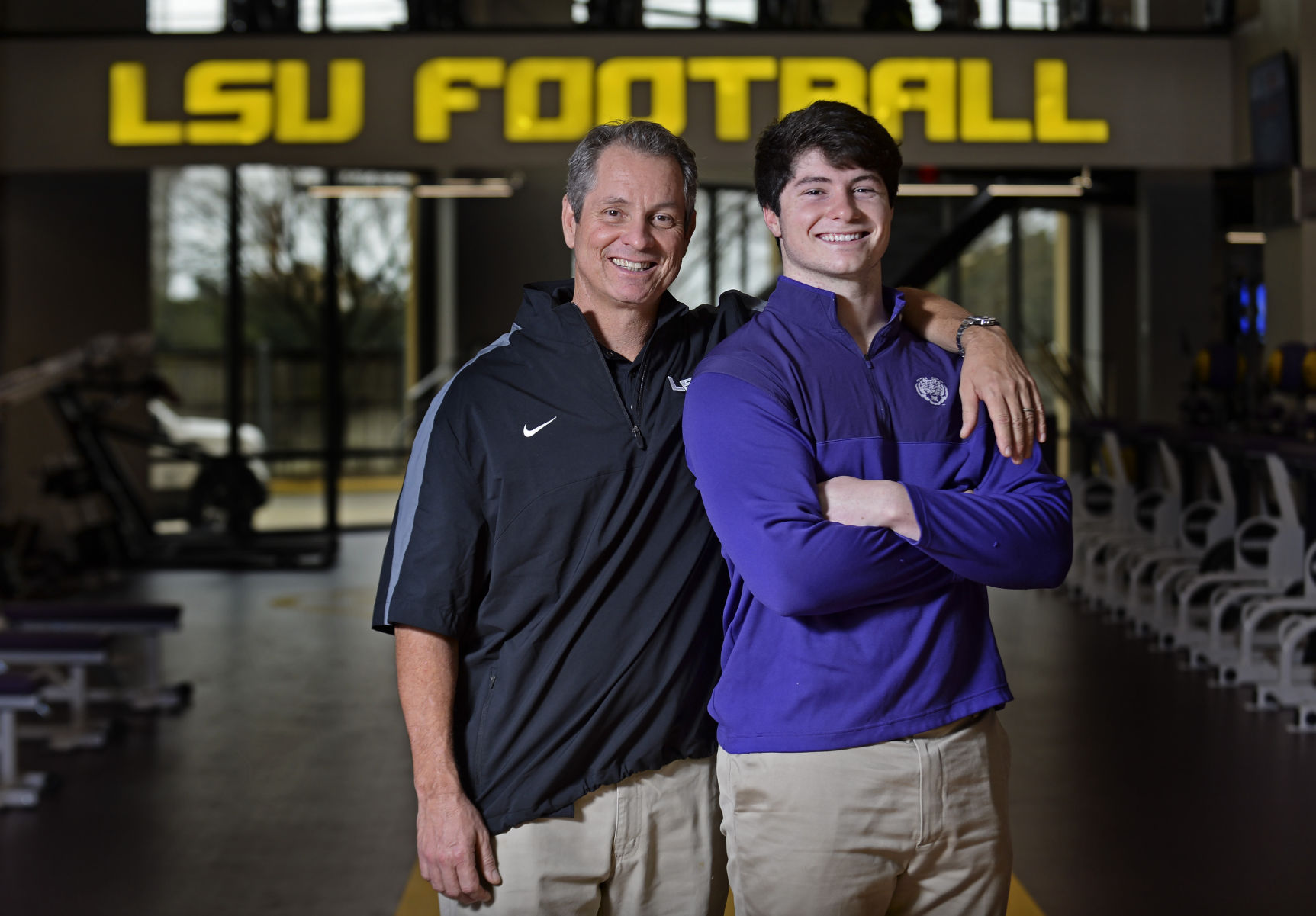 Aaron Moffitt set to join LSU strength coach, dad Tommy on signing ...